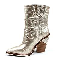 FEFEFEF Wedge Heel Boots Large Size Lining Plush Women