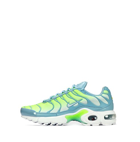 Nike Air Max Plus TN1Tuned Junior Jugend Mädchen Schuhe, Mica Blue/Glacier Blue/Volt - Größe: 38.5 EU (Stiefel Kinder Nike)