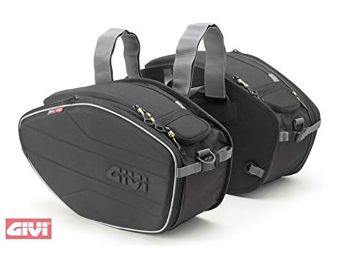 Givi EA101B Easy Bag Alforja para Motos Deportivas, Volumen 19-25 litros, Carga...