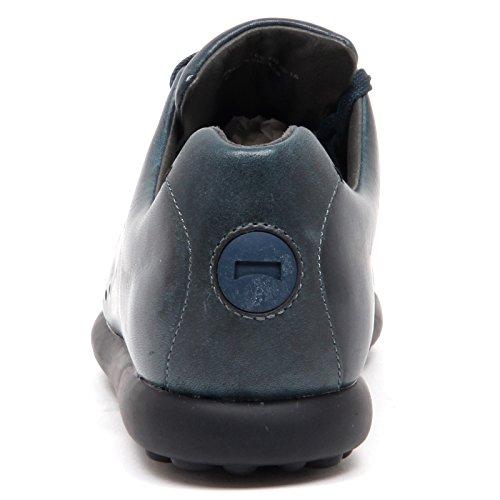 Camper D8638 (Without Box) Scarpa Donna Blu Petrolio Vintage Shoe Woman blu petrolio scuro
