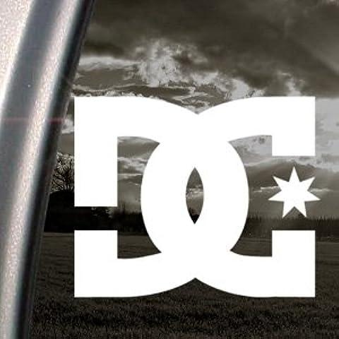 Pegatina para coche con el logo de DC