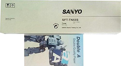 PP Premium Printware Bundle: Orig. Sanyo Toner SFT-TN55S, 50g + DoubleA Haftnotizmäppchen Sanyo Bundle