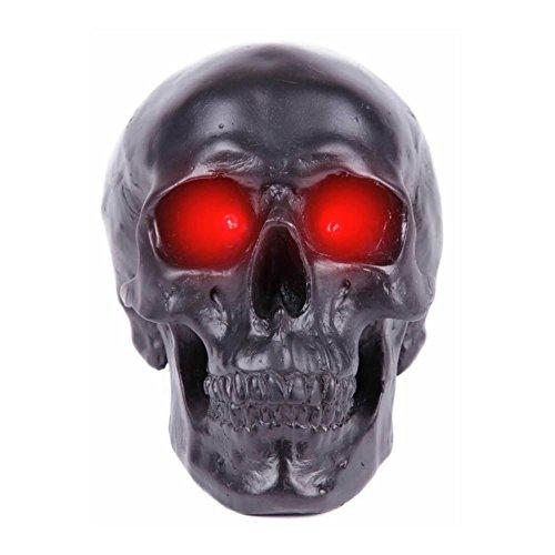 (LED Totenschädel Polyresin Totenkopf Lampe Halloween Skull Bones 3 Modelle (87358-9002-0000))