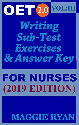 OET Writing (with 10 Sample Letters) for Nurses by Maggie