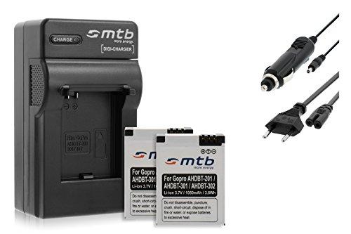 caricabatteria-2x-batterie-ahdbt-301-per-gopro-hero3-black-white-silver-edition