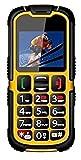 ROXX Seniorenhandy Baustellenhandy Outdoorhandy IP67 Grosstasten Handy W28 ohne Vetrag