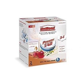 UniBond Pearl Moisture Absorber Energising Fruit Sensation Refill Tabs - Pack of 2