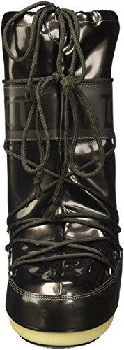 Vinilo Moon Boot Met, Snow Boots Mujeres Negro (negro 001)