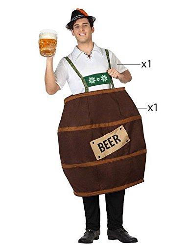 Imagen de atosa  26754  disfraz para adultos  barril de cerveza  t 3