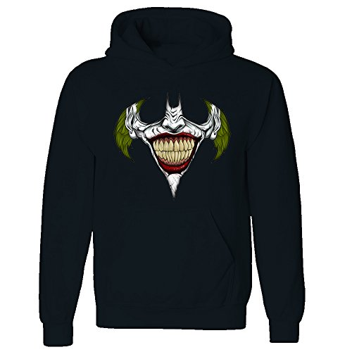 Inspired Bat Joker Smile Funny Adult & Kids Hoodie Free delivery From £12.99