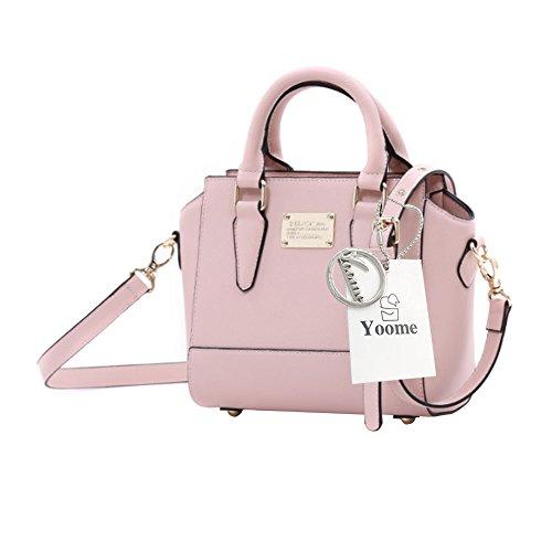 Borse eleganti di Yoome per le donne Borse di rivestimento in ottone Rosa