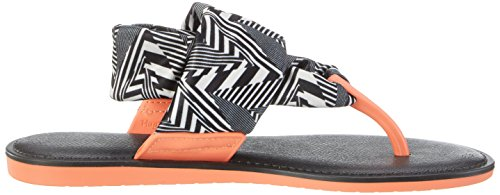 Zaxy 82155-00, Sandali Donna Multicolore (black/white)