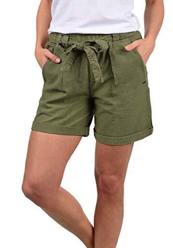 DESIRES Lina Damen Chino Shorts Bermuda Kurze Hose, Größe:M, Farbe:Dusty Olive (3784)