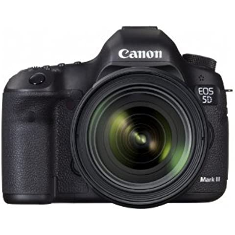 Canon EOS 5d Mark III 22.3 MP Full Frame CMOS digital SLR Camera with EF 24 – 70 mm f/4 L IS Kit Style: 5d mark iii Body 24 – 70 mm Lens Portable Consumer Electronic Gadget