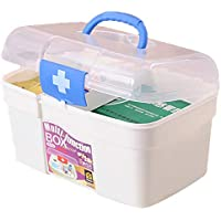 Preisvergleich für Deanyi Medizin Kasten Erste Hilfe Box Multifunktionale Medizin Tin Protable Drugs Box Medizin Schrank Kasten Home...