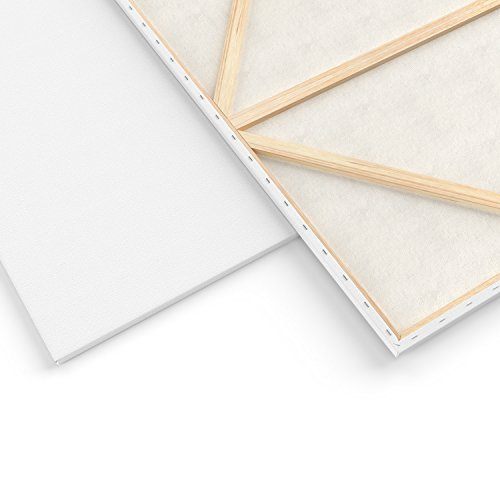 Arteza Blank Pre Stretched Canvas for Painting, 30X40, Pack of 2, Primed, 100% Cotton, for Acrylic Paint, Oil Paint, Other Wet Or Dry Art Media, for The Professional Artist, Hobby Painters, Kids