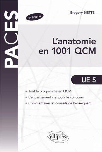 Anatomie en 1001 QCM