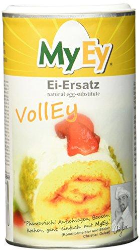 MyEy VollEy Ei-Ersatz, natürlich & voll aufschlagbar, universell einsetzbar, lactosefrei & vegan, 1 Pack (1 x 200 g)