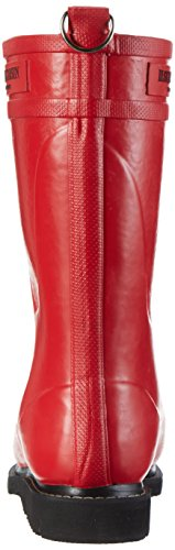 Ilse Jacobsen Damen 3/4 Gummistiefel, Rub15, Bottes pour Femme Rot (Tief Rot)