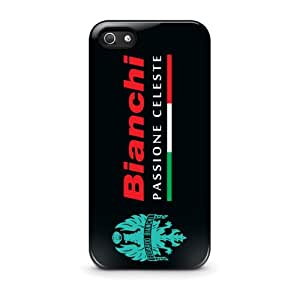 Coque iPhone 5/5S - Bianchi Passione Celeste Bicycle Logo