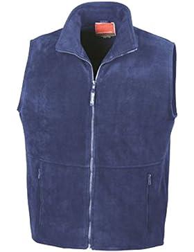 Result–Chaqueta de forro polar Active chaleco, unisex, color Azul - azul cobalto, tamaño XXL