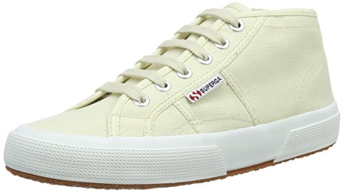 Superga Unisex-Erwachsene 2754 Cotu Hohe Sneakers Weiß (ivory)
