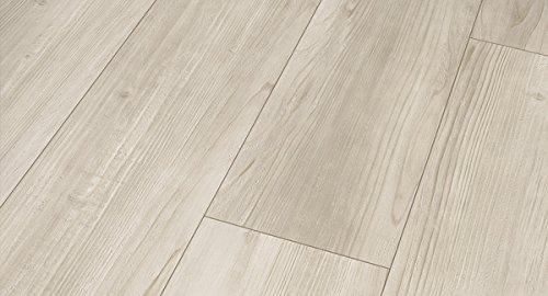 PARADOR Vinylboden Modular One - Pinie rustikal grau 1730774 - Designboden Landhausdiele Holzstruktur mit integrierter Kork-Trittschalldämmung und Klick-Verbindung - Paket a 2,493m²