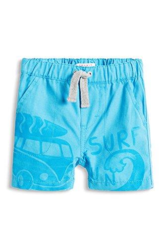 Esprit Kids 046EEBC006-Solid Bermuda, Shorts Bimba, Blau (Light Turquoise 480), 12 Mesi