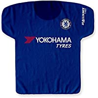 Big Time Jersey English Premiership Chelsea Italian Serie A Roma einseitiges Jersey-Handtuch, One Size, Blau