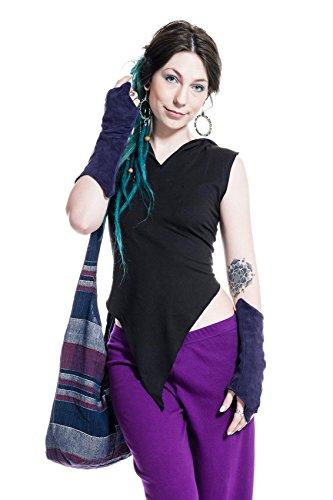 Velvet Pixie Armwarmers Faery Fingerless Gloves Goa Psy Trance Wrist Warmers