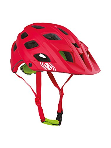 IXS Helmet Trail RS - Casco de Ciclismo Multiuso, Color Rojo, Talla S/M