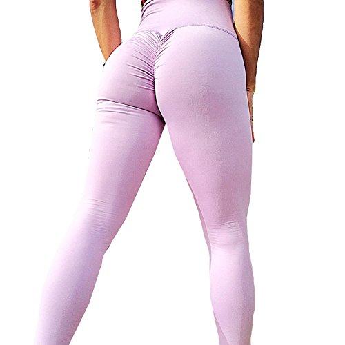 63d7489c0981ee Damen Leggings Hoch Taille Sporthose - Juleya Frauen Yoga Hosen Push Up  Jogginghose Weich Bequem Trainingshose