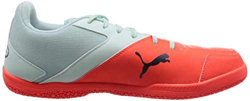 Puma Gavetto Sala, Chaussures de football mixte adulte Bleu - Blau (fair aqua-total eclipse-lava blast 04)