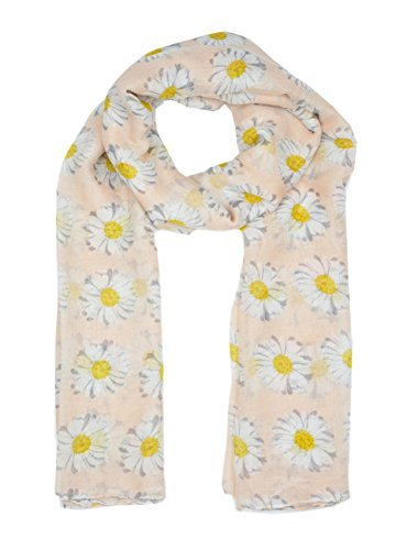 lady-womens-colorful-long-daisy-flower-print-scarf-wraps-shawl-soft-scarves-sc41-pink
