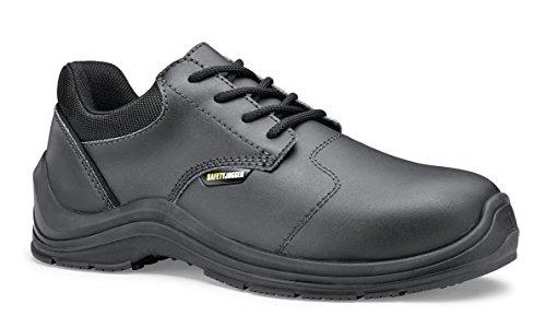 Safety Jogger Chaussures à lacets et coupe classique homme Schwarz (Schwarz)