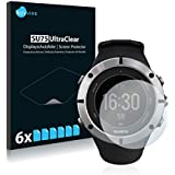 6x Screen Protector for Suunto Ambit2 Protection Film - Crystal-Clear, Bubble-Free