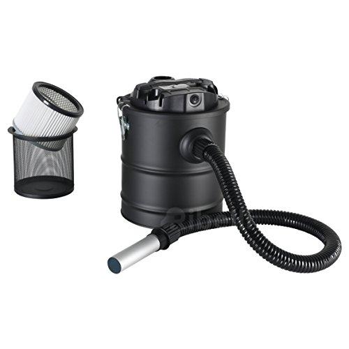 Aschesauger Kaminsauger 20 Liter mit einem 1200 Watt Motor und Filter für Grill Kamin Reinigung - ein Trockensauger für Asche - GS geprüft