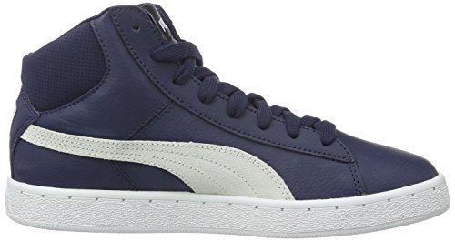 Puma 1948 Mid L, Baskets Basses Mixte Adulte Bleu - Blau (PEACOAT-puma White 04)