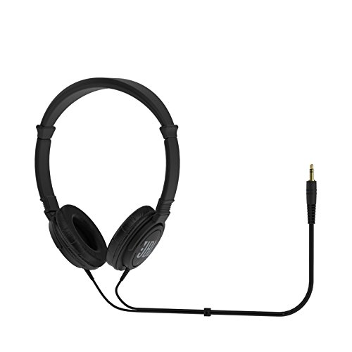 JBL C300SI On-Ear Dynamic Wired Headphones (Black)