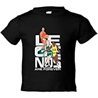 Camiseta niño Jordan Bird Magic Legends Are Forever leyendas del baloncesto