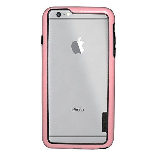 deinphone Apple iPhone 6Plus (5.5) Coque bumper Case Rose/noir