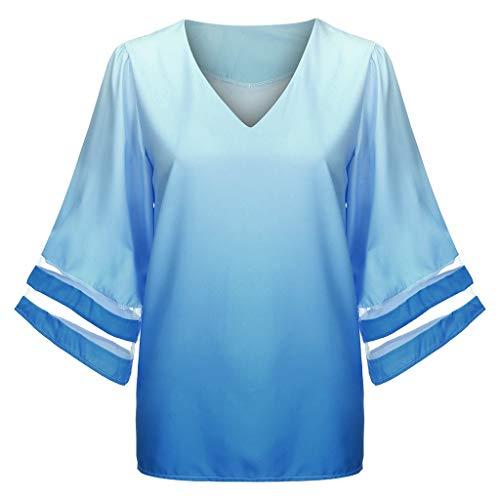 Day.LIN Damen Strickjacke Cardigan Pullover Blazer Oberteil Open Front Jacke Mantel Langarm Loose mit Taschen