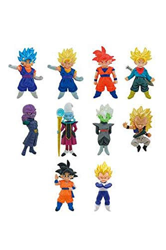 Bandai 1x Bustina Dragon Ball Super Collectable Mini Figure Vol 2 a Sorpresa Originale
