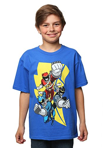Power Rangers Lightning Strike Rangers Boys T-Shirt Large