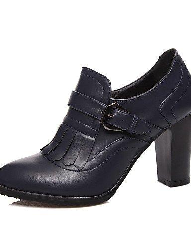ShangYi Mode Frauen Schuhe Damenschuhe Ferse Fersen / Neuheit Heels And  Schwarz / Blau / Mandel Schwarz