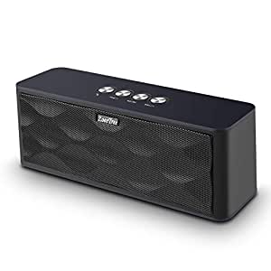 Altoparlante Bluetooth, Bravoly S9 Cassa Bluetooth Portatile con 12W Stereo, fino a 15 h di Autonomia, Scheda TF Supporto Ingresso Aux-In, Speaker Bluetooth Compatibile con Alexa, Android