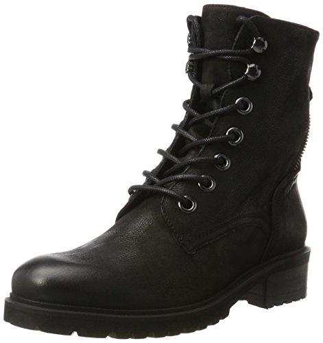 SPM Damen Lala Lace Boot Biker, Schwarz (Black/Black/Black), 41 EU