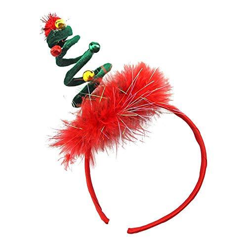 Timmershabi Weihnachten Hut Stirnband Frühling Kostüm Headwear Outfit -