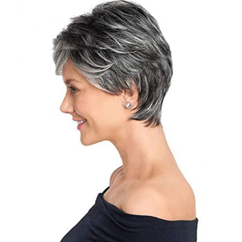 CXXX Frauen - perücke, farbverläufen kurzes, glattes Haar Rose - perücke