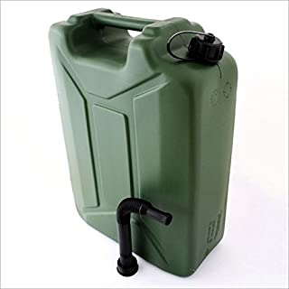 Relaxdays 20L 20 LITRE PETROL DIESEL JERRY CAN FLEXIBLE SPOUT